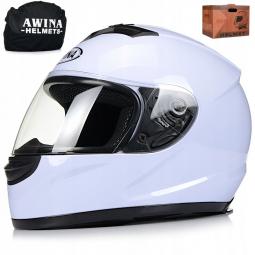 Moto přilba AWINA integrální bílá