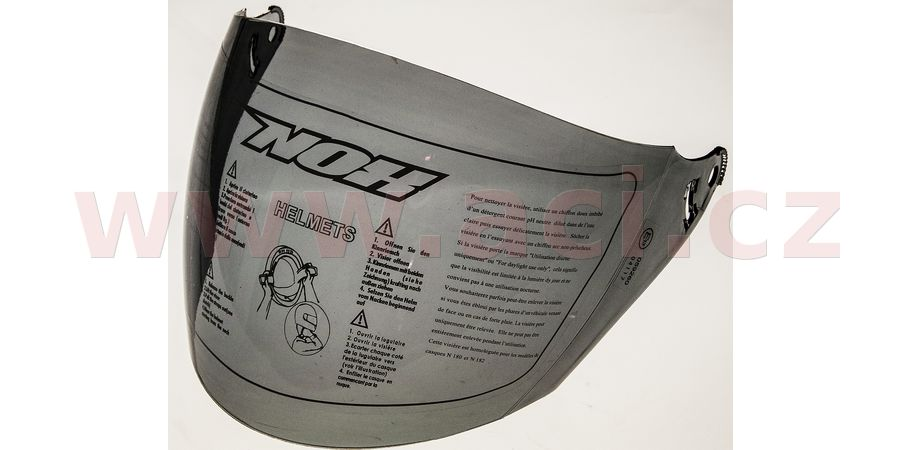 plexi pro přilby N640, NOX (tmavé)
