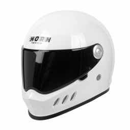 Moto přilba HORN H833 VInt  tmavé plexi součástí balení přilby