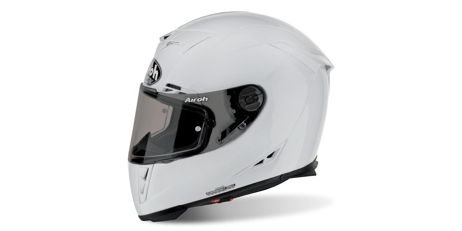 přilba GP 500, AIROH (bílá)