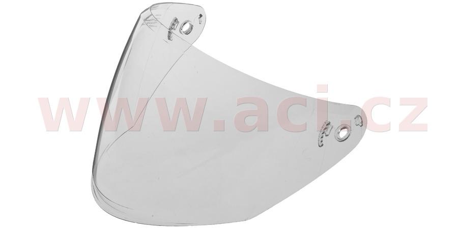 plexi pro přilby Jet Tech, CASSIDA (čiré, antifog)
