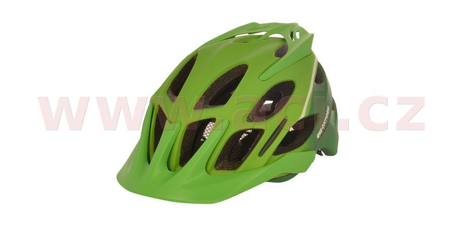 cyklo MTB přilba TUCANO, OXFORD (zelená matná/světle zelená)