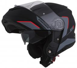 Moto přilba CASSIDA Compress 2.0 Refraction černá-červená