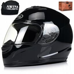Moto přilba AWINA integrální černá