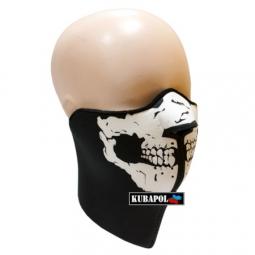 Maska - černá s potiskem