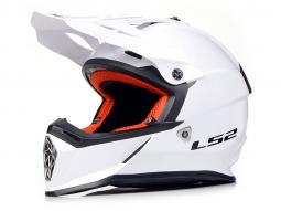 Přilba LS2 MX437 bílá