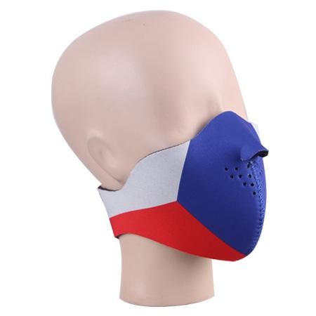 Maska neoprenová nízká CZECH