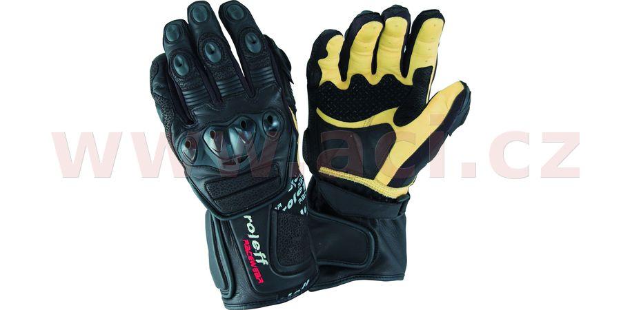 rukavice Le Mans, ROLEFF, pánské (černé)