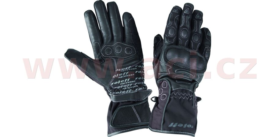 rukavice Erfurt, ROLEFF, pánské (černé)