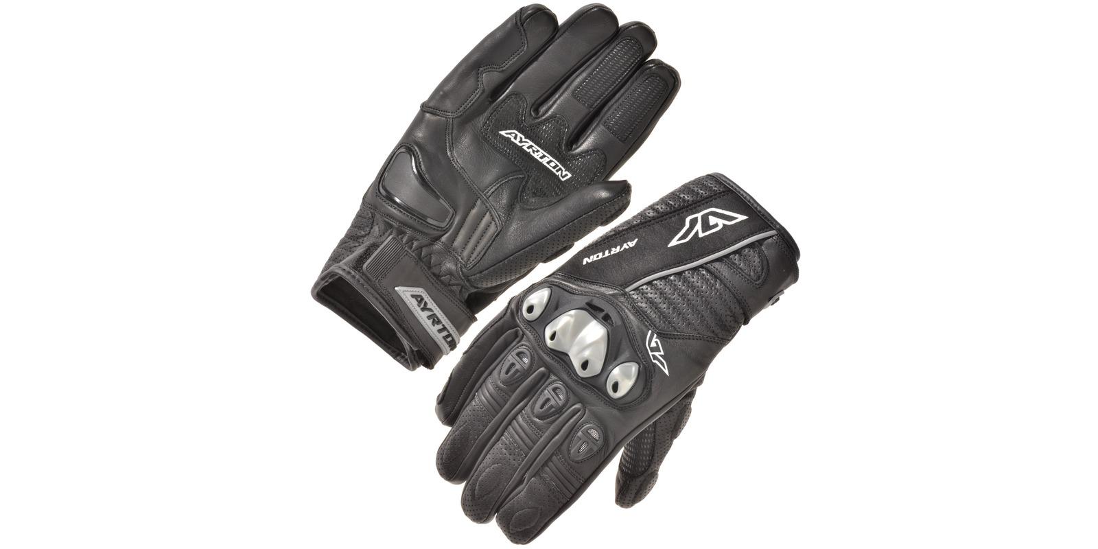 rukavice Tactical, AYRTON (černé/šedé)