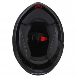 Moto přilba HORN 925 Fli-Up černá matná sluneční clona pinlock30