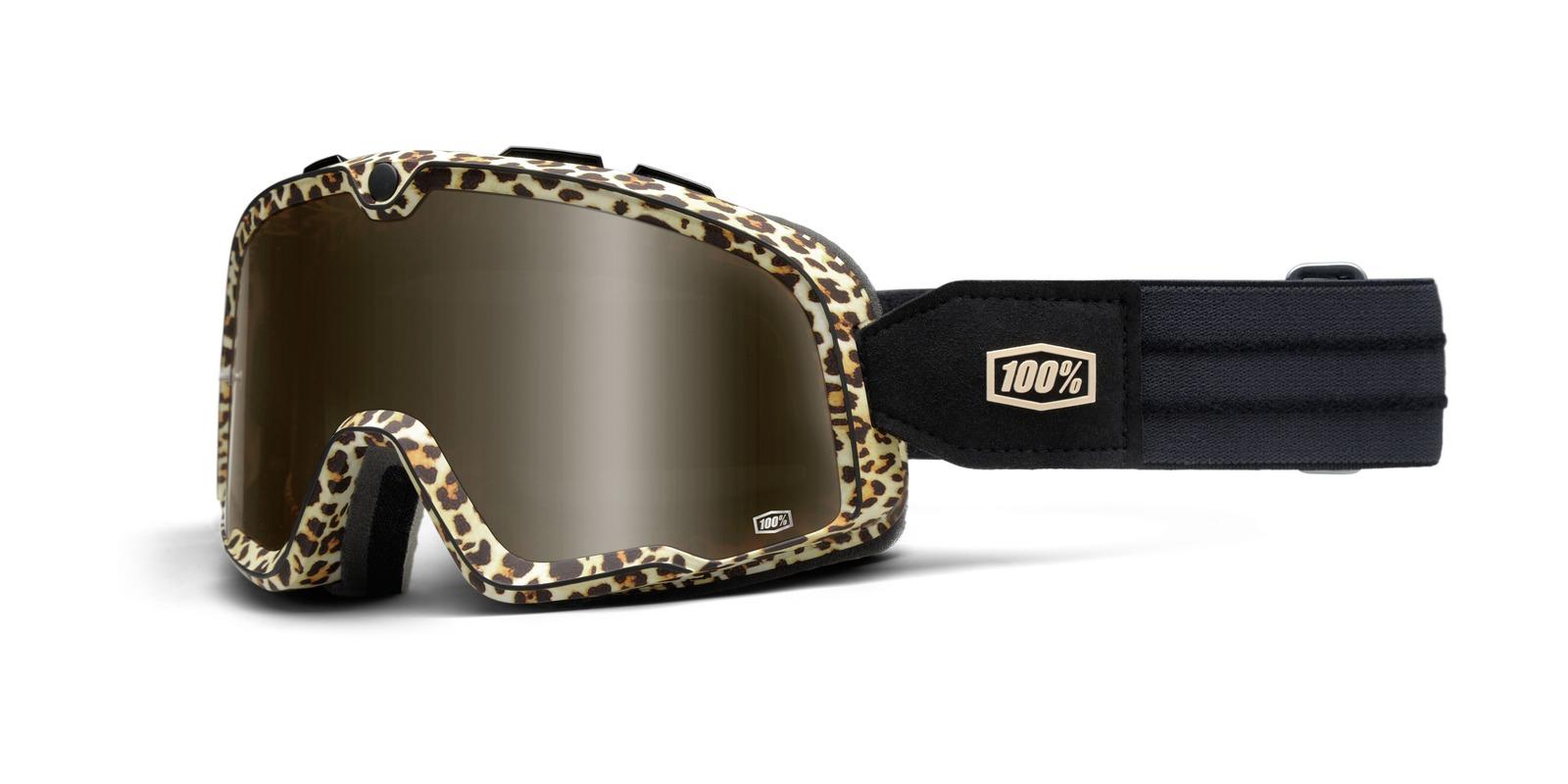 brýle Barstow Classic Carlton, 100 (hnědá, hnědé plexi)