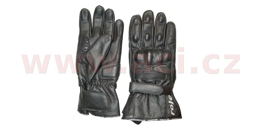 rukavice Berchtesgaden, ROLEFF (černé)