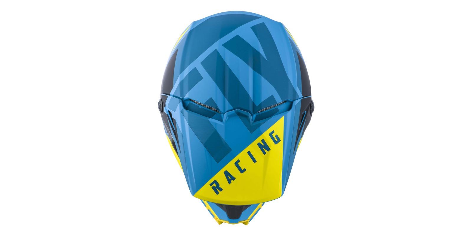 přilba ELITE VIGLANT, FLY RACING (modrá/černá)