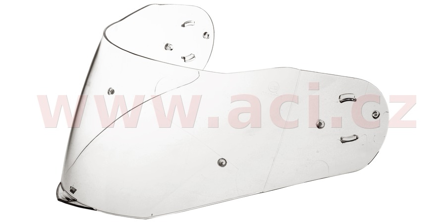 plexi s přípravou pro Pinlock pro přilby N965, NOX (čiré)