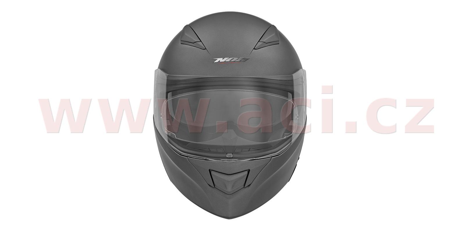 přilba N965, NOX (stříbrná titanium matná)