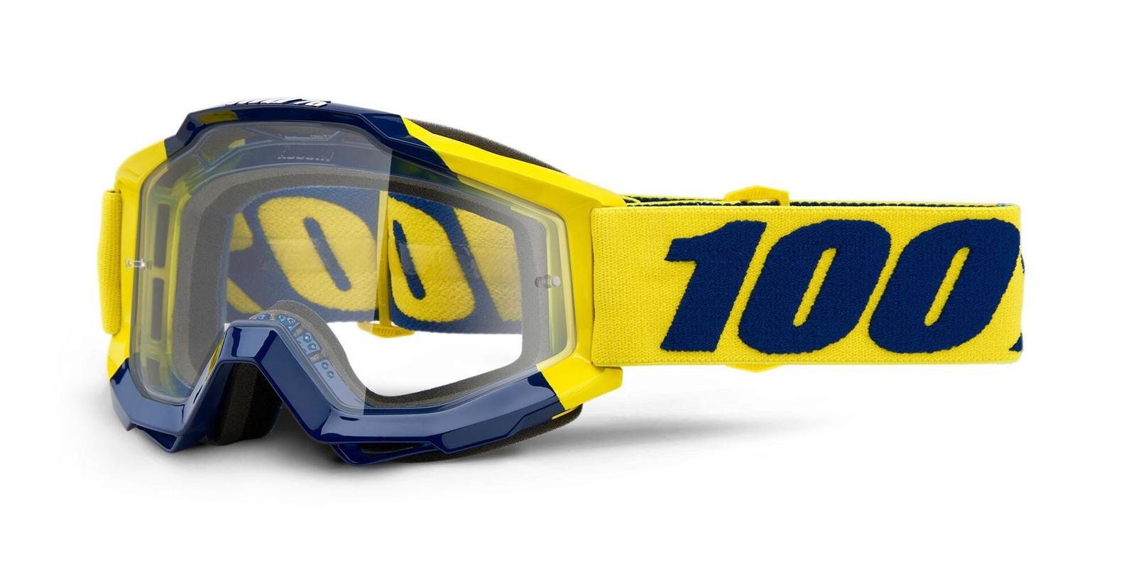 brýle ACCURI SUPPLY, 100% (čiré plexi)