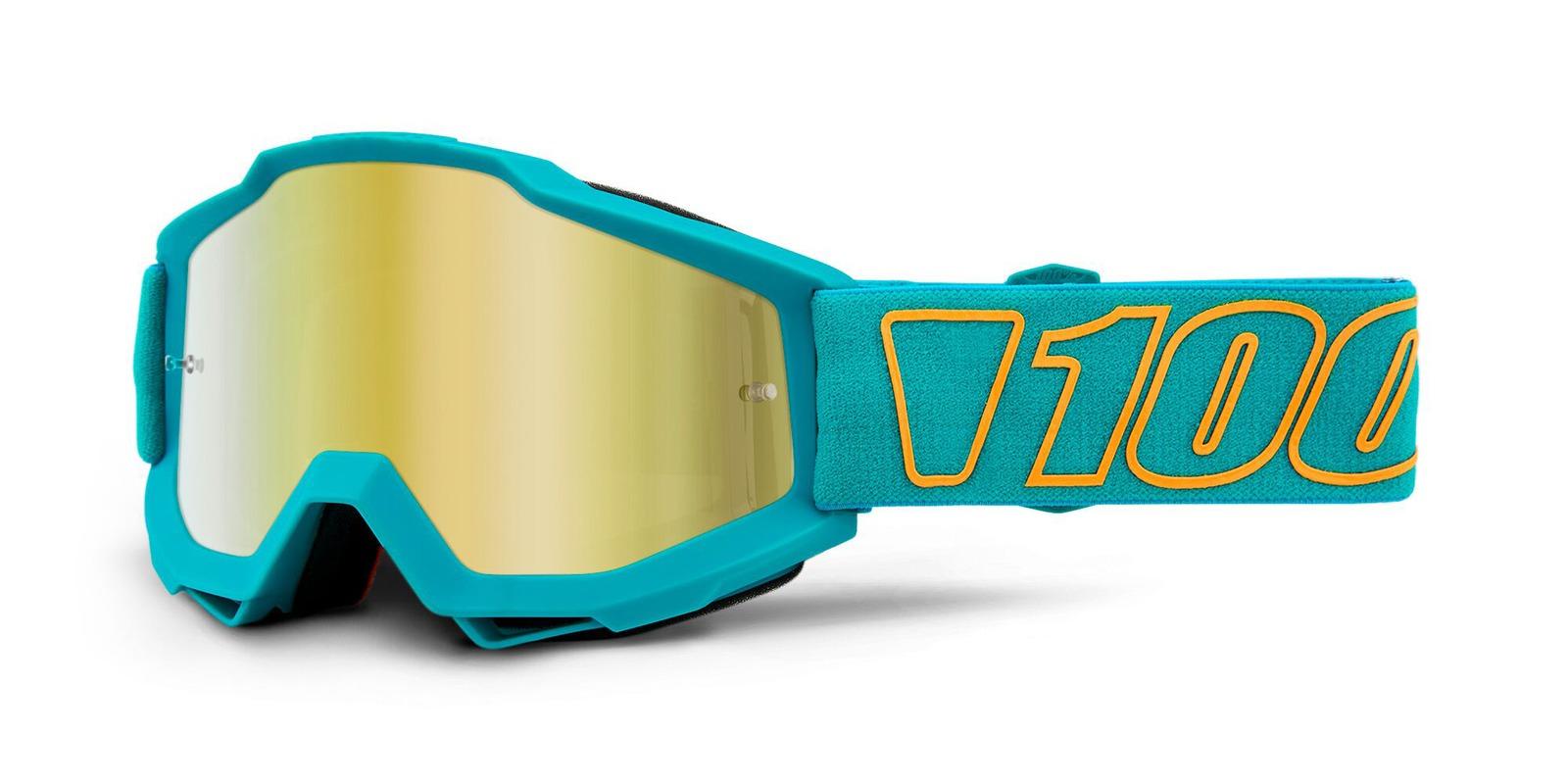 brýle ACCURI GALAK, 100% (zlaté zrcadlové plexi)