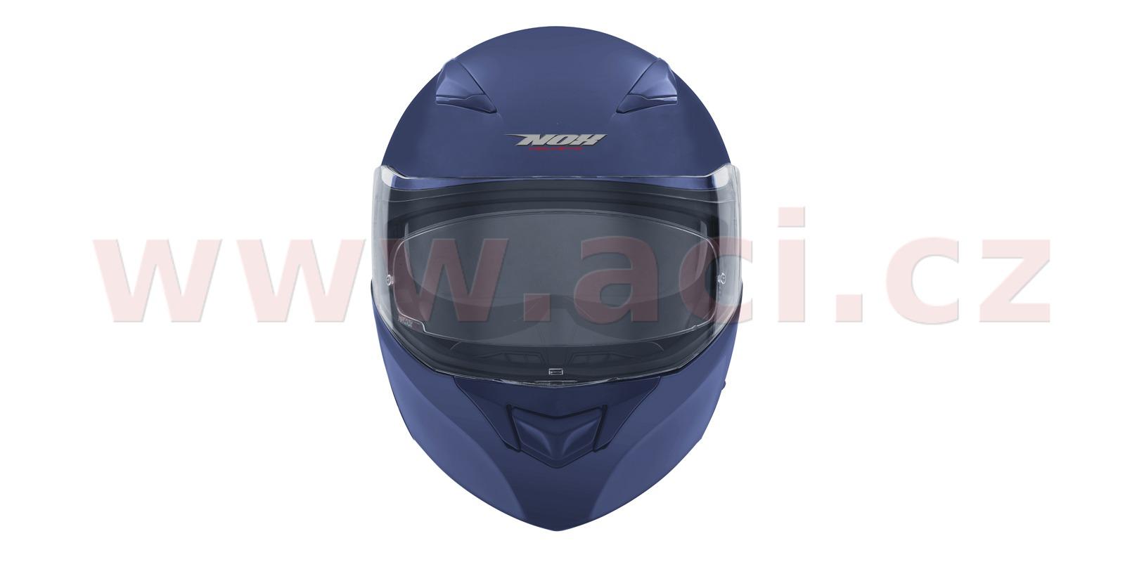 přilba N965, NOX (modrá matná)