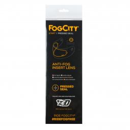 přilba F18, ZED (bílá) folie FogCity® Start