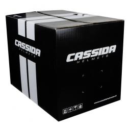 + PINLOCK Moto přilba CASSIDA VELOCITY ST 2.1 stříbrná