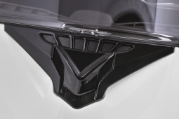 Moto přilba CASSIDA Compress 2.0 Refraction bílá-černá