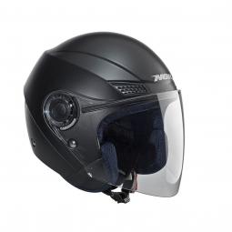 Přilba NOX N630 otevřená černá matná + kukla