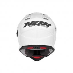 Moto přilba NOX N312 bílá