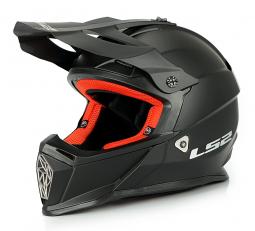 Přilba LS2 MX437 černá matná