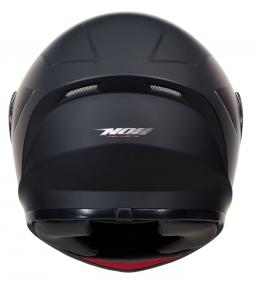 Dětská moto přilba NOX N961K černá matná + kukla
