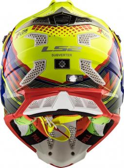 Moto přilba LS2 MX470 SUBVERTER CROSS ATV žlutá-červená