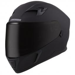Moto přilba CASSIDA INTEGRAL 3.0 černá matná + sluneční clona
