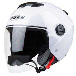 Moto přilba HORN JET H617 bílá