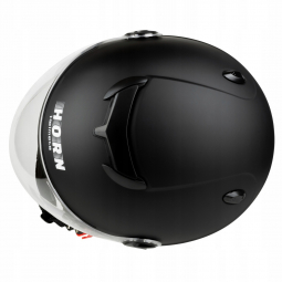 Moto přilba HORN JET H617 černá matná